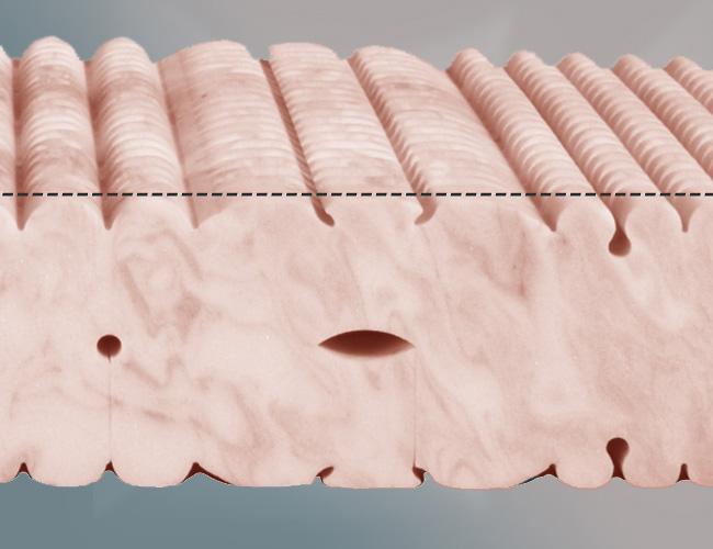 Strohmeier Matratzen kaltschaum matratze mit exklusivem pyramidenschnitt