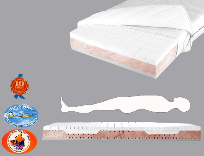 viscoelastische matratze modell v 03. Black Bedroom Furniture Sets. Home Design Ideas